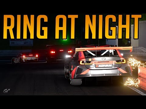 Gran Turismo Sport: The Nordschleife At Night