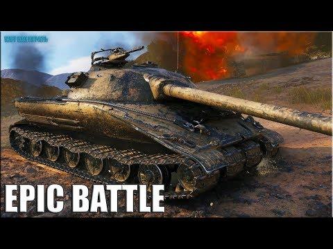 Об. 279 против ВОСЬМЕРЫХ ✅ World of Tanks лучший бой
