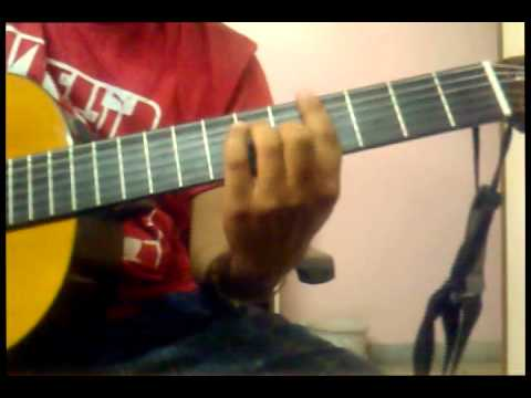 learn KANGNA (UNPLUGGED)- FULL SONG WITH INTRO TABS by DR on guitar