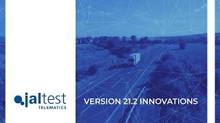 JALTEST TELEMATICS | Innovations 21.2 version