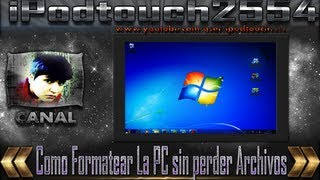 Como formatear e instalar windows 7 ultimate 32bits y 64bits [sin perder ARCHIVOS ni DRIVERS] (1/2)