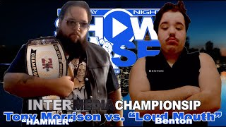 InterMedia Championship: Tony Morrison vs. Kevin Messiah