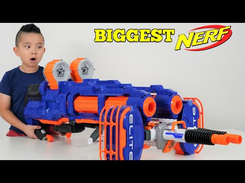 BIGGEST NERF EVER!! CKN Toys