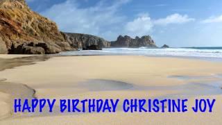 ChristineJoy   Beaches Playas - Happy Birthday