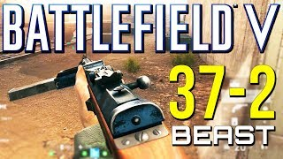 Battlefield 5: 37-2 MP34 is a Beast! (Battlefield V Multiplayer Gameplay)