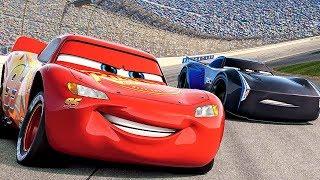CARS 3 Lightning McQueen First Scene Race BEST Moments