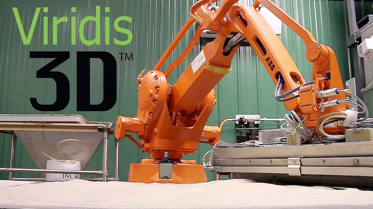 Viridis3D - Robotic Additive Manufacturing