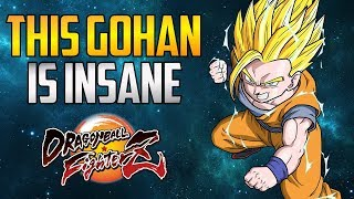 DBFZ ▰ Unknown OD Gohan Cooks HGG Raw. No Oil Or Butter【Dragon Ball FighterZ】