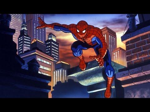 Человек паук мультфильм начало