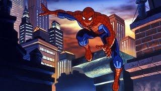 Человек паук 1994 - Все заставки 1-5 сезон