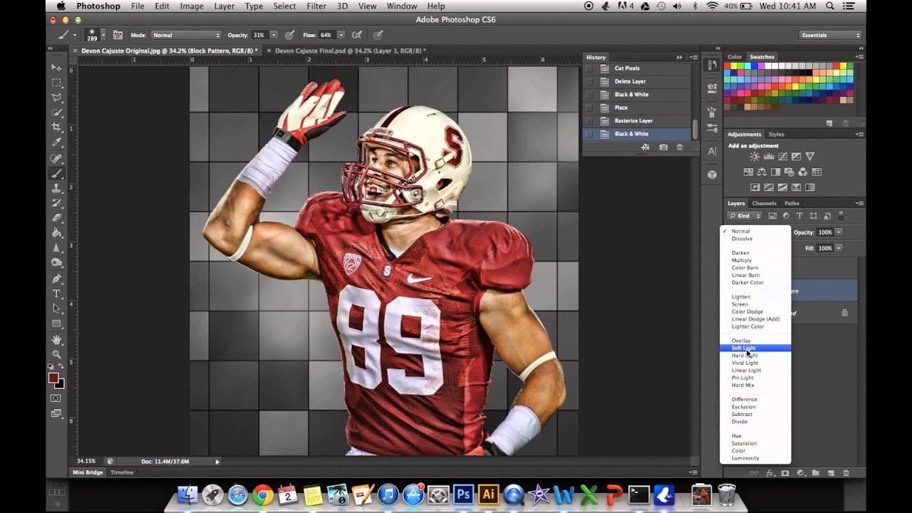 Photoshop cs6 sports editing tutorial youtube photoshop cs6 sports editing tutorial baditri Images