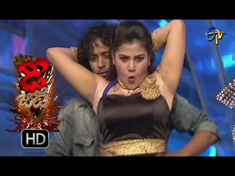 Vinay and Rishika Performance | Dhee Jodi | 19th october2016| ETV Telugu