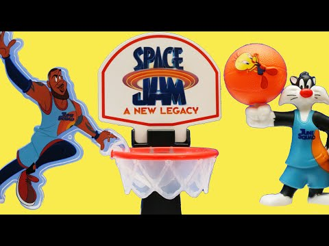 Space Jam A New Legacy Happy Meal Toys Set ! Lebron James Slam Dunk |