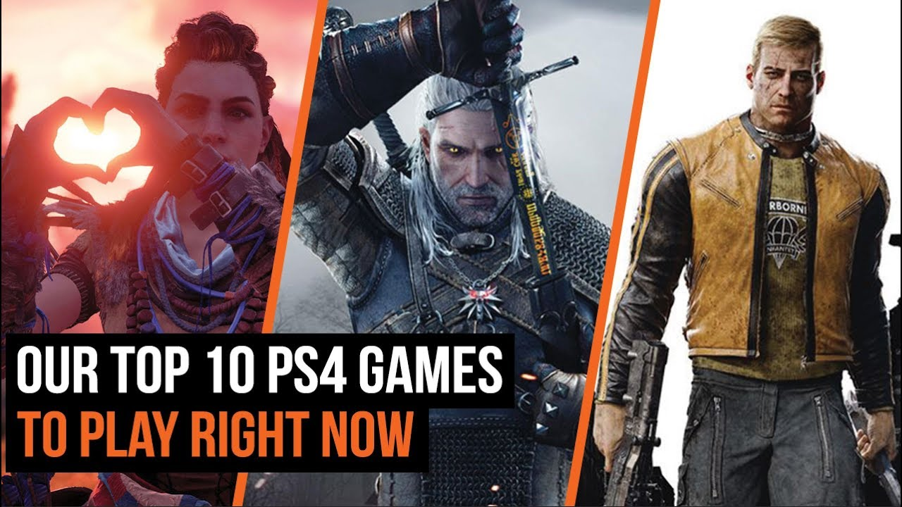 Top 10 Ps4 Games To Play Right Now Youtube
