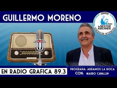 Guillermo Moreno en Radio Grafica FM 89.3 30/11/17