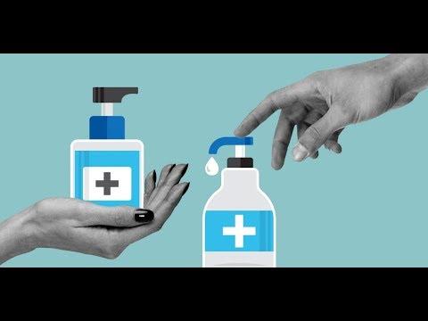 Антисептик - гель своими руками, дома без мед. спирта.Make alcohol Аntiseptic gel home #StayHome