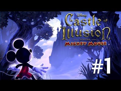 Castle of illusion | PisicaMiauMiau in aventura lui Mickey Mouse| Episodul 1 ( prezentare )