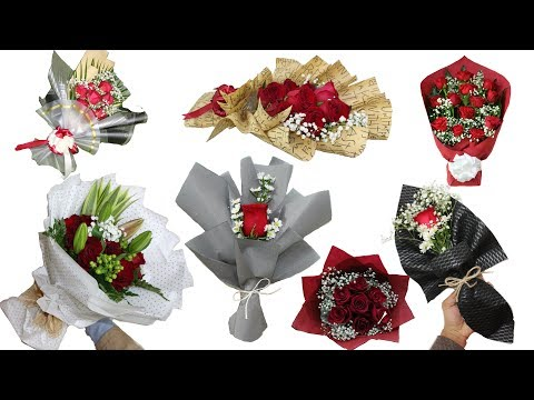 top 10 wrapping flower 2019 || How to wrap a bouquet of flowers Mp3