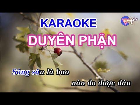 Duyên Phận || KARAOKE HD || Beat Chuẩn
