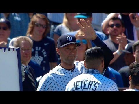 Experience Derek Jeter Day at Yankee Stadium