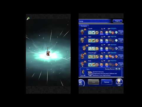 FFRK - Trial of the Dark Blade (Apocalypse +) Jump Start Cid Mission Style