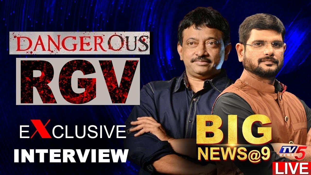 Download RGV Exclusive Interview With TV5 Murthy   Big News   Ram Gopal Varma   TV5 News Digital