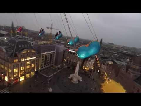 Dam Square, Amsterdam theme park, April 2017