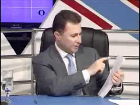 Nikola Gruevski vo X/O so Robert Popovski 25.06.2012 del2