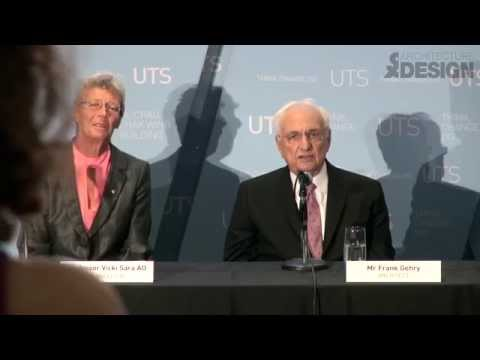 Gehry ponders the Sydney aesthetic - Dr Chau Chak Wing Building UTS Official Opening