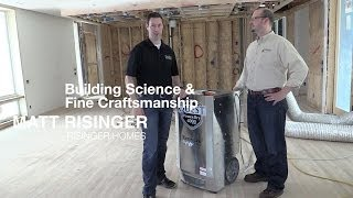 Job Site Dehumidifier - Quest Construction Climate Control Equipment(Controlling moisture during the construction process is critical to building high quality homes. Join Coleman and I as we talk about how portable job site ..., 2014-04-03T14:01:26.000Z)