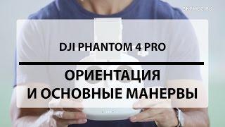 DJI Phantom 4 Pro. Ориентация и основные маневры