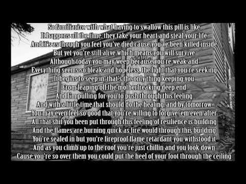 Eminem - Beautiful pain (lyrics)