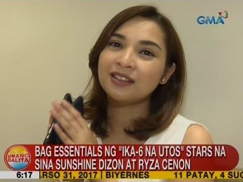 UB: Bag essentials ng 'Ika-6 Na Utos' stars na sina Sunshine Dizon at Ryza Cenon