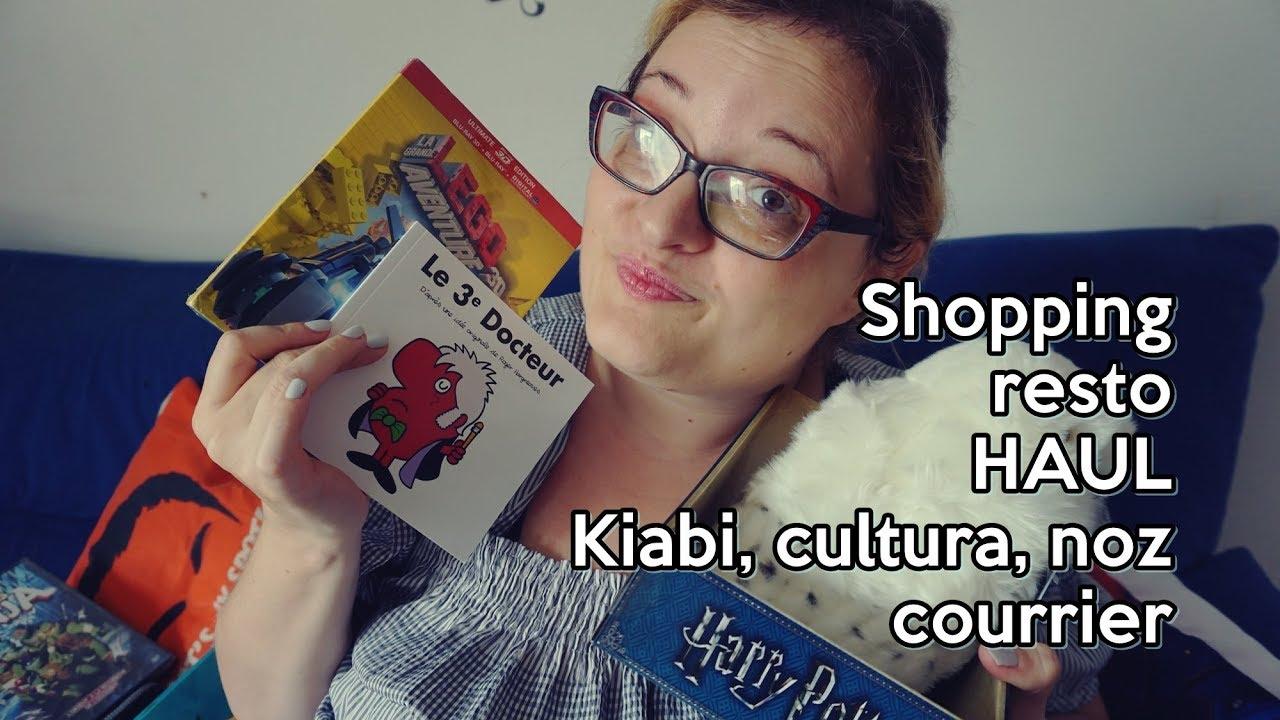 Family Vlog Shopping Resto Haul Kiabi Cultura Noz