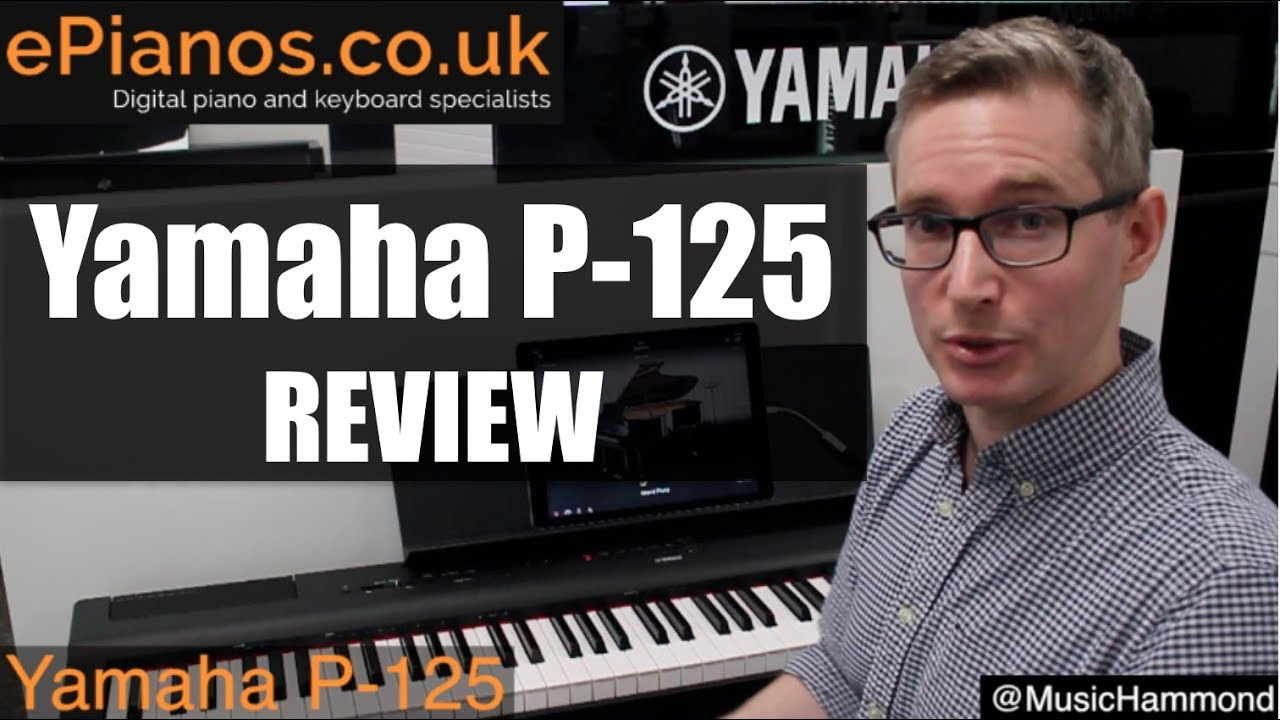 yamaha p 125 digital piano review what piano should i. Black Bedroom Furniture Sets. Home Design Ideas
