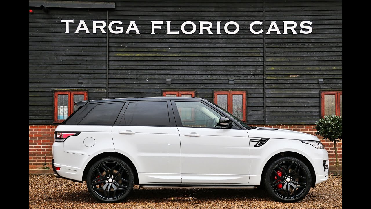 range rover sport 5 0 v8 supercharged autobiography dynamic in fuji white youtube. Black Bedroom Furniture Sets. Home Design Ideas