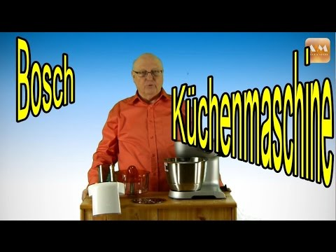 bosch mum 56 z 40 styline 900w - youtube