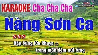 Nàng Sơn Ca Karaoke Cha Cha 2019 - Nhạc Sống Thanh Ngân