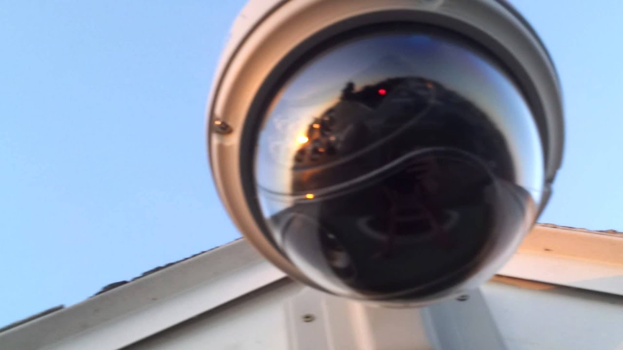 Outdoor CCTV Installation