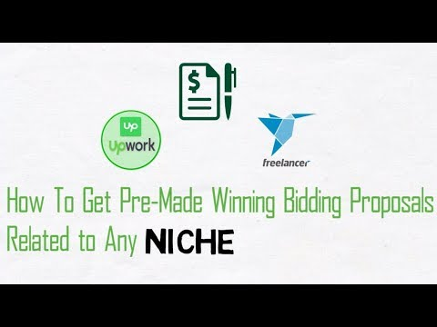 How to get Ready Made Winning Project Proposals (of any Niche) on Freelance Market Places