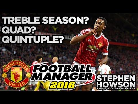 Treble Season? Quad? Quintuple?   Manchester United Football Manager Career Mode #8