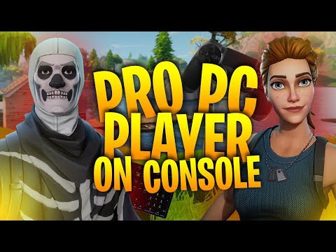 PRO Player Uses a KEYBOARD on PS4! Solo Squads Blitz! - Fortnite Battle Royale