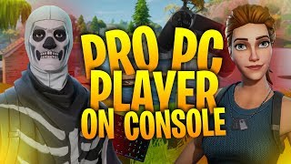 PRO Player Uses a KEYBOARD on PS4! Solo Squads Blitz! - Fortnite Battle Royale thumbnail