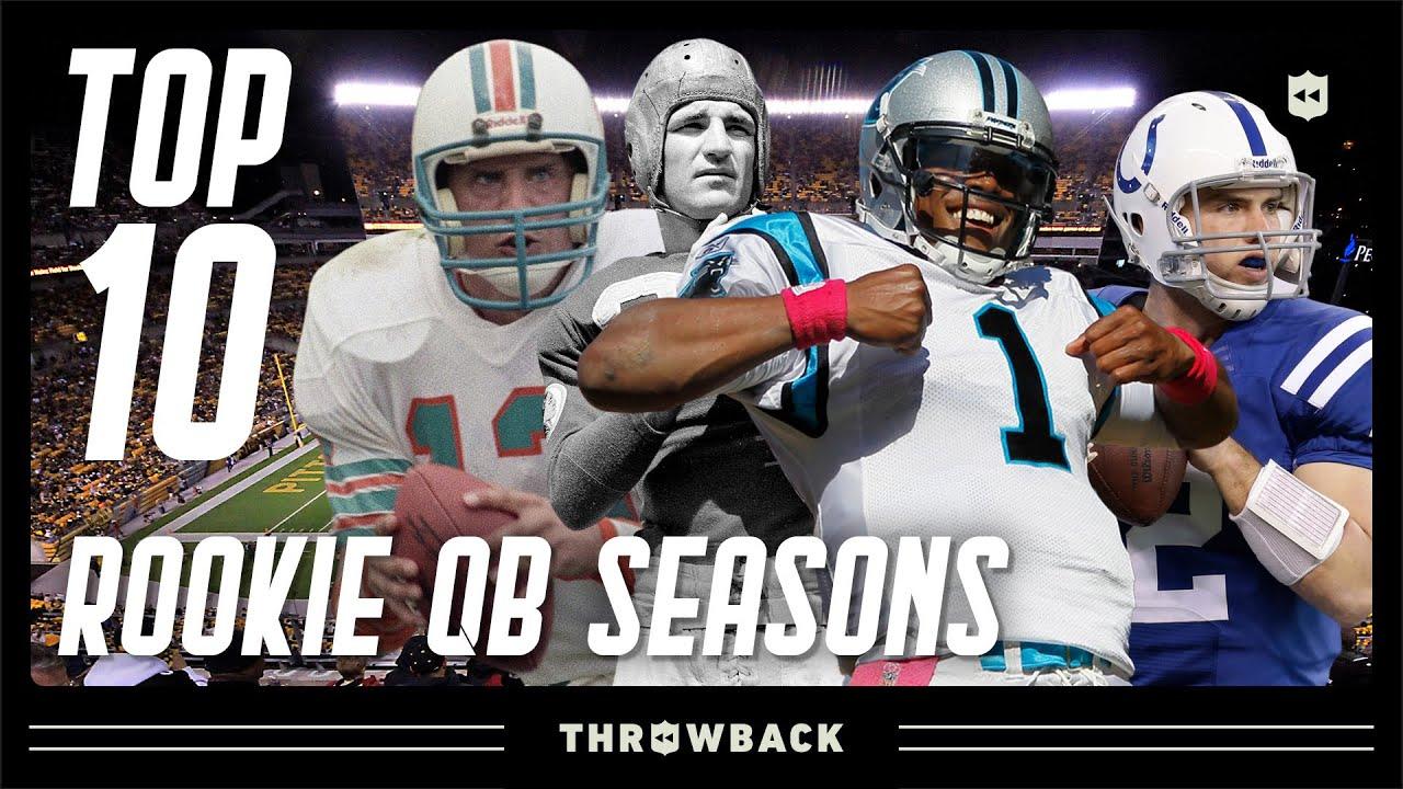 Top 10 Rookie Quarterback Seasons in NFL History!