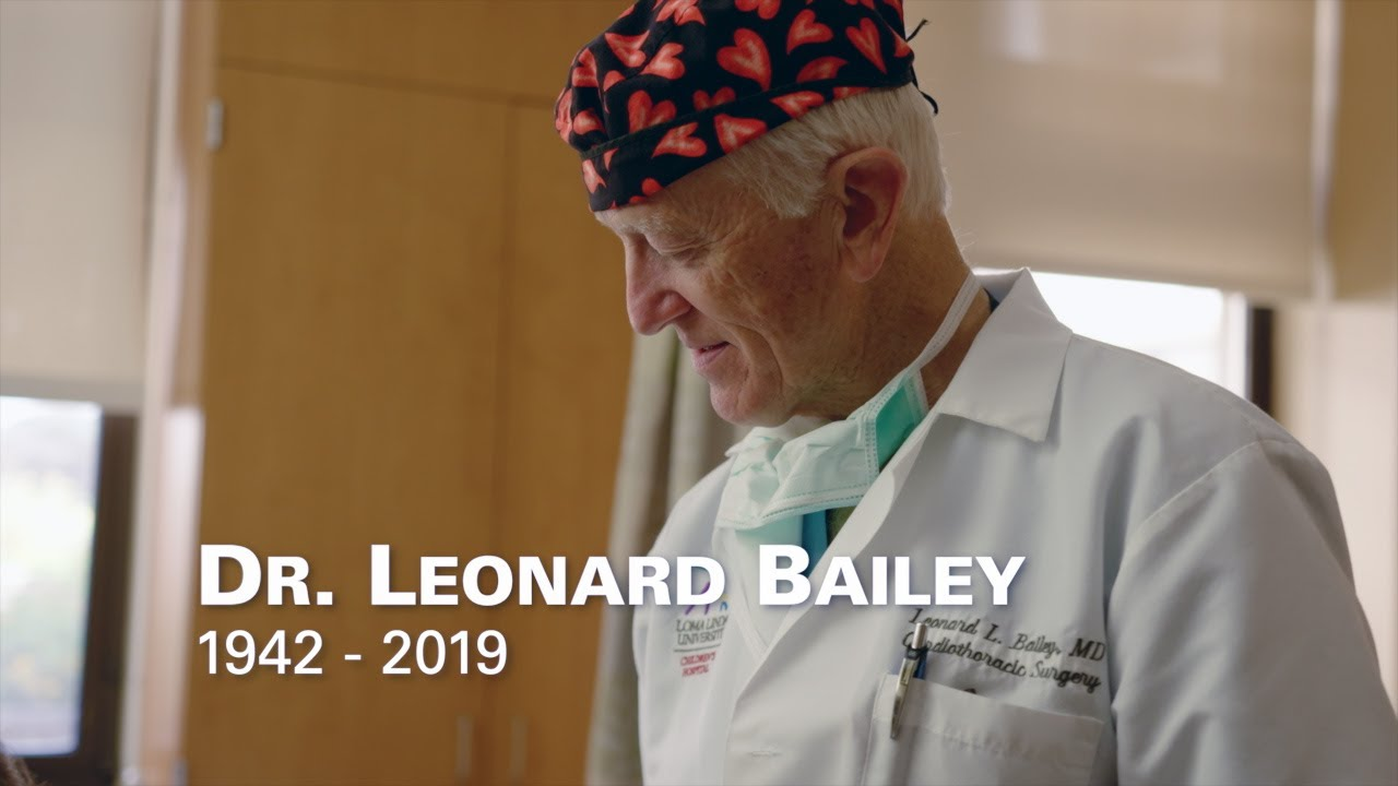 Remembering Dr. Leonard Bailey 1942 – 2019