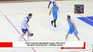 Beykent Üniversitesi - Federal Mogul CBL Grup Maçı