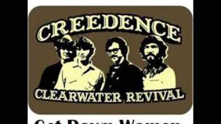 Creedence Clearwater Revival - Get Down Woman+LYRICS