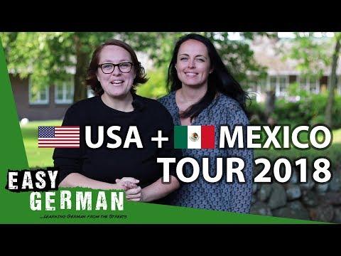 Easy German US + Mexico Tour 2018
