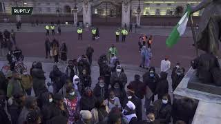 LIVE: Protest held in London against police brutality in Nigeria