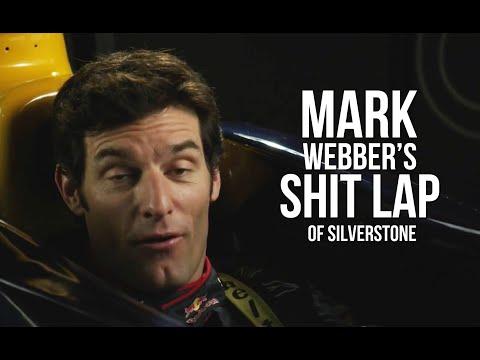 Mark Webber goes on a shit lap of Silverstone